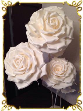 Букет роз напольный