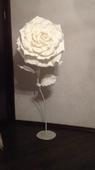 Светильник напольный роза
